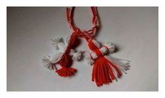 El&Ea Ea, Tassel Necklace, Tassels, Jewelry, Fimo, Jewlery, Jewerly, Schmuck, Jewels