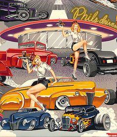 Phils Drive In Vintage Alexander Henry