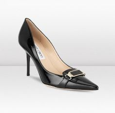 "Women's Practical Shoes Jimmy Choo Vedra Black Patent Pointy Toe Pumps 2013 Add these sophisticated lady like pumps to day dresses and sharp tailoring when you want to look polished and elegant. The easy to wear style on a practical mid heel height features a metal plaque subtly embossed with the Jimmy Choo logo. Heel measures 85mm/3.3"" http://www.clheelsale.com/women-s-practical-shoes-jimmy-choo-vedra-black-patent-pointy-toe-pumps-2013.html"
