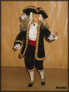 model z období BAROKA - a model of the Baroque period
