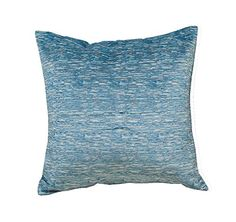 Amazon.com: Best Token 2pcs Chenille Decorative Cushion and Pillow Cover Pillow Cases for Sofa Bed Couch (Blue): Home & Kitchen