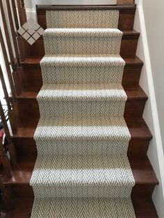 Stair Runners reduce noise, provide more grip, minimize slipping.