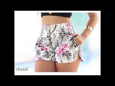 Pretty shorts on screen print- Bonito short en tela estampada Pretty shorts on screen print - Floral Shorts, Boho Shorts, Diy Clothes, Clothes For Women, Summer Outfits, Cute Outfits, Cute Shorts, Hot Pants, Fashion Outfits