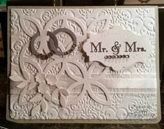 Wedding Rings by Motherof6 - Cards and Paper Crafts at Splitcoaststampers