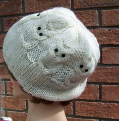 Love this owl knit hat!