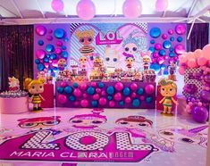 Little Pony Birthday Party, 9th Birthday Parties, Birthday Fun, Pop Star Party, Jojo Siwa Birthday, Doll Party, Lol Dolls, Party Activities, Party Planning