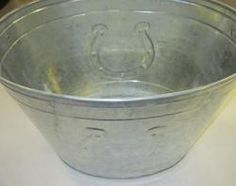 We are loving this item for summer. The Horse Shoe Ice Tub is back!