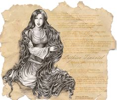 Lay of Leithian: Luthien by ~melime6 on deviantART