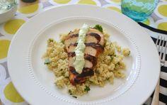 Blackened Chicken and Cilantro Lime Quinoa | heidiklum.aol.com