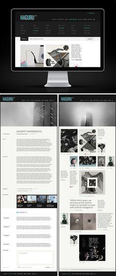 HAGURU | #webdesign #it #web #design #layout #userinterface #website #webdesign <<< repinned by www.BlickeDeeler.de | Follow us on www.facebook.com/BlickeDeeler