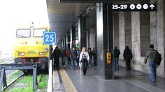 Arriving by Train - Roma Termini