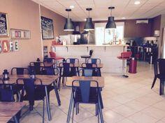 French Burger Restaurant.