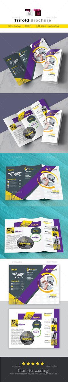 Modern Church Tri Fold Brochure Template Tri Fold Brochure