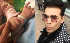 Karan Johar shares his dreams for Yash and Roohi in this emotional letter written by him – New Daddy, Karan Johar, See Photo, One Pic, The One, Round Sunglasses, Twins, Entertaining, Lettering