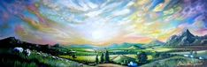 "Saatchi Artist Cherie Roe Dirksen; Painting, ""Heaven and Earth"" ($540) #art"