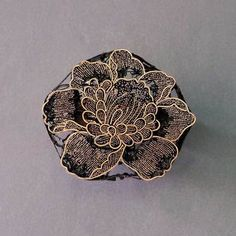 Copper Batik Stamp | Lotus