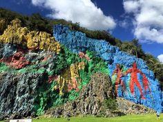 El Mural de La prehistoria #elmuraldelaprehistoria in #Vinales #Viñales #Cuba  #historia #TurGuide Villa Renga y Julia  Book your #Holidays here. www.CasaVinales.jimdo.com ☎️✈️ #Bedandbreakfast  #CasaCuba #vinalesvalley #vinalescuba #vinalesvalley #hostel #CasaParticular #B&B #tripadvisor @lonelyplanet #elvalledevinales #UNESCO #Tabacco Field Farm #Aventures #horseriding #climbing and more...