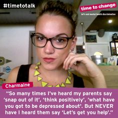 Charmaine blogs about her experiences of anxiety and depression, and the importance of offering your support to someone with mental health problems. #TimetoTalk