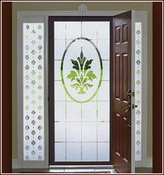 Doral Design - Sidelight and coordinating door panel