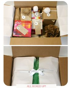 birthday idea for someone special -- forty gifts in a box (or as many as the person is turning)  //  You Are My Fav