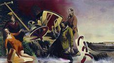 Neo Rauch Fluchtversuch Galerie EIGEN+ART