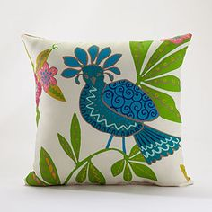Bird of Paradise Throw Pillow at Cost Plus World Market