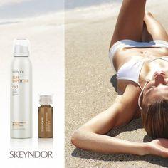#sunexpertise #skeyndor nuevo protección invisible SPF50 de muy fácil aplicación por 36€ ☀️
