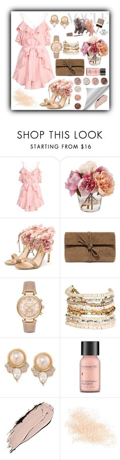 """""""Untitled #251"""" by mayer-fruzsina ❤ liked on Polyvore featuring Alice McCall, Rupert Sanderson, Lulu*s, Michael Kors, Panacea, Carolee, Terre Mère, Perricone MD and Eve Lom"""