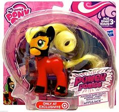 Collect all your favorite 'mane' characters as Power Ponies!...