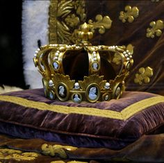Crown of Charles X of France, who reigned from Sept 1824-August 1830