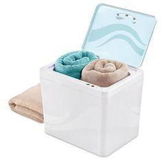 The Personal Towel Warmer - Hammacher Schlemmer