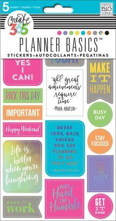 Planner Basics™ Stickers - Neon