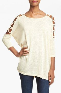 Social Ladder Knit Tunic