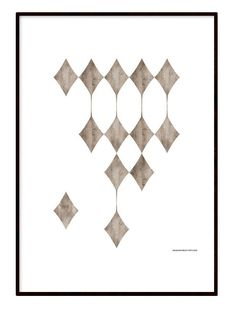 Poster - Wooden Squares room 99.se