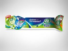 Tic Tac Bold on Behance Pos Display, Display Design, Dangler Design, Shelf Talkers, Pos Design, Retail Signage, Juice Packaging, Space Activities, Point Of Purchase