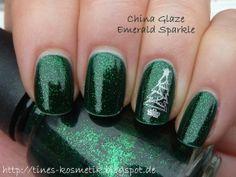China Glaze Emerald Sparkle