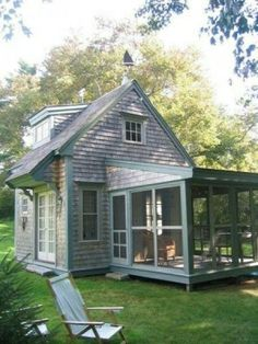 Tiny house with screen porch by margot graham