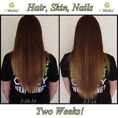 Our Hair Skin and Nails supplements are doing the most amazing things! I've seen tons if increasing and more rapid hair growth! I've seen longer, stronger, more beautiful nails! I've even heard of it helping eliminate eczema! The eat part? It's totally affordable and easy to get! Just msg me here: www.facebook.com/jannawrapsanewyou or text me at 918-774-5268 if you have any questions or to get yours now!