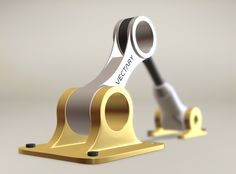 🛠 Mechanical parts vol. 2 - a 3D model by Milan Gladiš   VECTARY — ROBOT PART MECHANICAL PISTONCAR 3D MODELING 3D TECHNICAL TECHNOLOGY