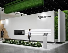 "Exhibition stand ""Electrolux""Design by ""GM design group""designer Nazar Malets"