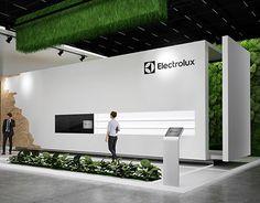 "Exhibition stand ""Electrolux""Design by ""GM design group""designer Nazar Malets"