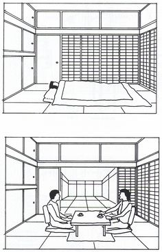 Minimalist Traditional Japanese House Floor Plan Residential