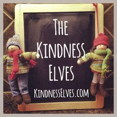 The Kindness Elves - A new spin on the Elf on the Shelf Tradition #christmas traditions #elfontheshelf #elfontheshelfideas