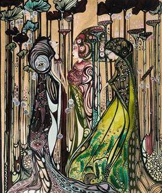 . . .  www.leylasalm.com  Follow at Instagram : www.instagram.com/leylasalm  #artist, #art, #artnouveau, #artdeco #design #designer #kunst #nederland #selfrespect #dutch #leylasalm #konstnar #bohemianstyle #symbolism #stockholm #illustration #konst  #sverige #sweden #woman #original #bohemianinterior #jugendstil #bohemian #Örebro #skövde #artgallery #konstgalleri #museum #museumhouse  Copyright © 2020 Leyla Salm - All rights reserved Online Gallery, Art Gallery, Art Nouveau, Art Deco, Bohemian Interior, See You, Museum, Symbols, Illustration
