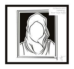 Hijab vector 5