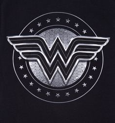 Women's Black Wonder Woman Movie Logo T-Shirt Wonder Woman Pictures, Wonder Woman Art, Wonder Woman Movie, Wonder Woman Logo, Dragon Tattoo Back Piece, Dragon Sleeve Tattoos, Geeks, Elmo Wallpaper, Girl Neck Tattoos