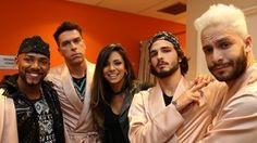 'Dança': os bastidores antes do desafio funk (Carol Caminha/Gshow)