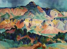 GENE KLOSS (1903-1996)  Ghost Ranch