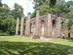 church ruin, sheldon church