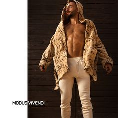 Featuring a roomy hood, two practical pockets in front, this stylish piece is perfect for throwing it over your pajamas. Mens Tights, Loungewear, Fur Coat, Pajamas, Tank Tops, Chic, Stylish, Jackets, Collection